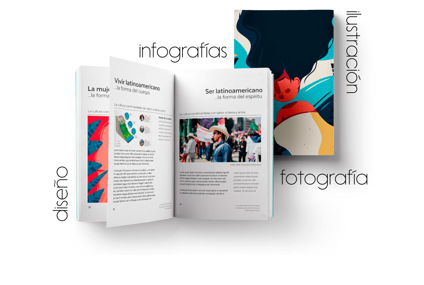 diseño editorial Mexico